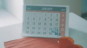 2015 Calendar Page Calendar Page Of January 2015 On Kitchen Table Date 24 Circled As