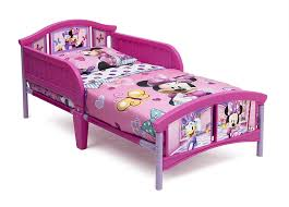 kids bed side view.  Kids Amazoncom  Delta Children Plastic Toddler Bed Disney Minnie Mouse Baby To Kids Bed Side View S