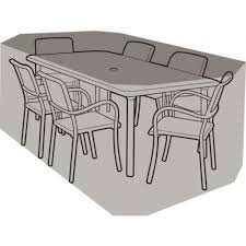 black garden furniture covers. Rectangular Table Superior Quality Waterproof Patio Furniture Cover - Various Sizes Gardenbox Black Garden Covers I