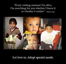 visual argument special needs adoption visual argument