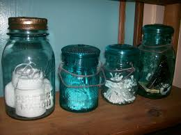 Ball mason jars  Organize bathroom essentials such as make up remover  pads, cotton balls, q-tips