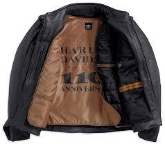 harley davidson 110th anniversary mens leather jacket cairoamani com