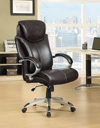 serta big tall wellness by design executive leather office chair brown