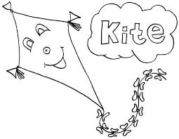 Free Printable Kite Template Printable Kite Template Simple Design Updrill Co