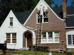 Painting Exterior Brick on Home Ideas