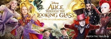 alice through the looking glass posters