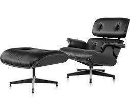 Eames Chair With Ottoman Ebony Eamesr Lounge Chair Ottoman Hivemoderncom