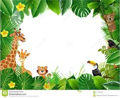 jungle animal background. Fine Background Bright Tropical Background With Cartoon Jungle Animals Throughout Jungle Animal Background