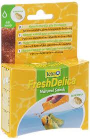 "Лакомство для рыб <b>Tetra</b> ""<b>FreshDelica Daphnia</b>"", с дафнией, желе ..."