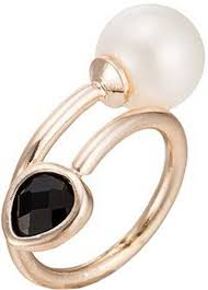Chemistry High End <b>Fashion Alloy</b>, Crystal <b>Pearl</b> Gold Plated Ring ...