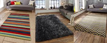 3 diffe floor rugs for use in lounge and living room areas