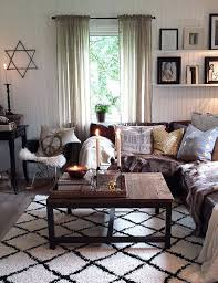 Sofa Small Living Room New Brown Couch Living Room Ideas Love The Vase And Lanterns Behind The