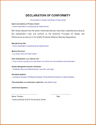 Certificate Of Conformance Template Word Write Happy Ending