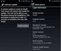 Lava Iris 405+ Now Receiving Android 4.4.2 KitKat Update