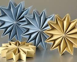 Leporello Origami Stars Sterne Basteln Für Weihnachten