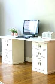 under desk cabinets filing cabinet desk desk with locking file cabinet desk made with file cabinets