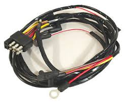 1966 ford mustang gauge feed wiring harness 8 cylinder engine image is loading 1966 ford mustang gauge feed wiring harness