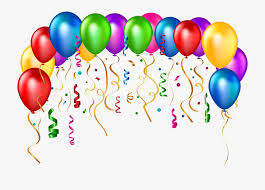 Party Balloons Clipart Png Download Happy Birthday