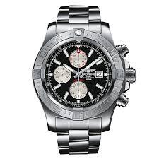 breitling super avenger ii men s bracelet watch ernest jones breitling super avenger ii men s bracelet watch product number 1591320