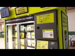 Vending Machine That Buys Cell Phones Inspiration Straight Talk Cell Phone Vending Machine YouTube