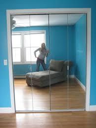 stanley mirror doors bifold mirrored closet door handles in