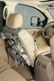smittybilt gear truck seat cover od green front