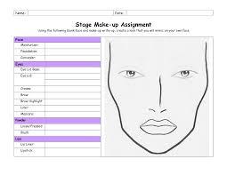 se makeup template face 185049 png