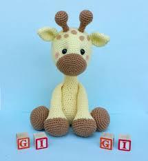 Crochet Giraffe Pattern Inspiration Giraffe Crochet Pattern Giraffe Doll Giraffe Por ThePinkFoxStitches