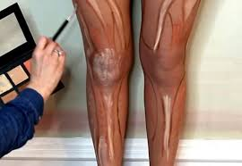 after you re done literally putting makeup on your feet you can move on up to your legs because why get a spray tan when you can spend twice as long