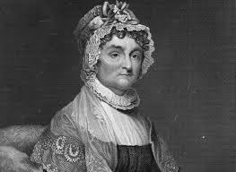 abigail adams wrote to john in remember the ladies or we ll universal history archive via getty images the face of abigail adams