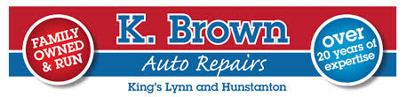 k brown auto repairs call 01553 763 763 or 01485 533 786 k brown auto repairs in kings lynn hunstanton header