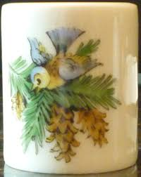 Funny Design West Germany Candle Holder Vintage Funny Design West Germany 2 Bird Candle Holder