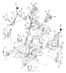 Simplicity 990715 3 point hitch parts diagram for 3 point hitch rh jackssmallengines 3 7