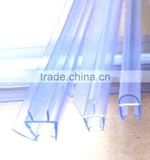 shower door plastic seal strip all kind of rubber bathroom glass clear