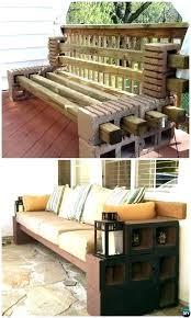 cinderblock furniture. Unique Furniture Cinder Block Patio Furniture Concrete  Bench Seating   On Cinderblock Furniture