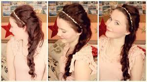 Frisur Like A Princess Silvester 2013 Youtube