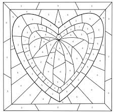 Print out this color by number pages and enjoy to coloring. Mother S Day Color By Number Free Printable Coloring Pages