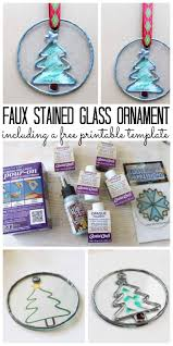 Stained Glass Christmas Ornament Patterns Awesome Ideas
