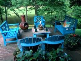 wooden outdoor furniture painted. Patio Wooden Furniture Painting Outdoor Wood  And Nice . Painted