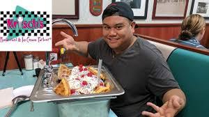 Image Cream Soda Shop Youtube Massive Kitchen Sink Ice Cream Challenge Guest Magic Mitch