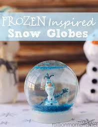 diy snow globes with disney s frozen frozenfun