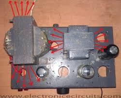 v j class a vacuum tube valve amplifier circuit electronic vacuum tube audio amplifier transformer magnetic flux diagram