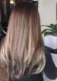 120 light brown hair with highlights
