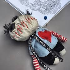 voodoo doll with pins gift