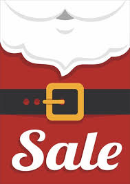 Christmas Sale Signs Business Poster Shop