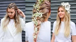 alternative wedding hair