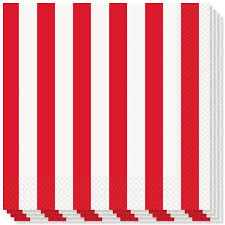 red and white stripes. Beautiful And Redandwhitestripesthemeluncheonnapkinsproduct To Red And White Stripes T