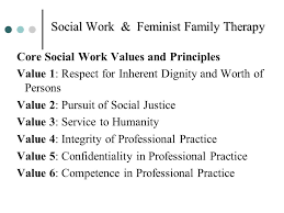 Social Work Values Core Values Of Social Workers