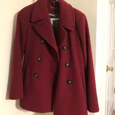 anne klein double ted peacoat calvin anne klein double ted peacoat