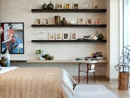 floating shelves fabulous and functional wall decoration ideas dark wood